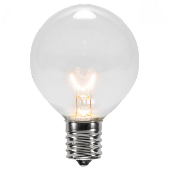 7W 130-Volt Light Bulb (Pack of 25) by Wintergreen Lighting