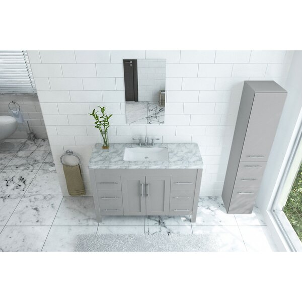 Fichter 47 Double Bathroom Vanity Set by Wrought Studio