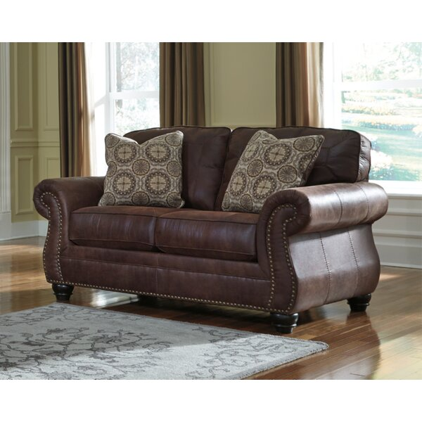 Trendy Modern Conesville Loveseat by Three Posts by Three Posts