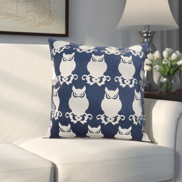 Winchester Cotton Duck Throw Pillow by Alcott Hill