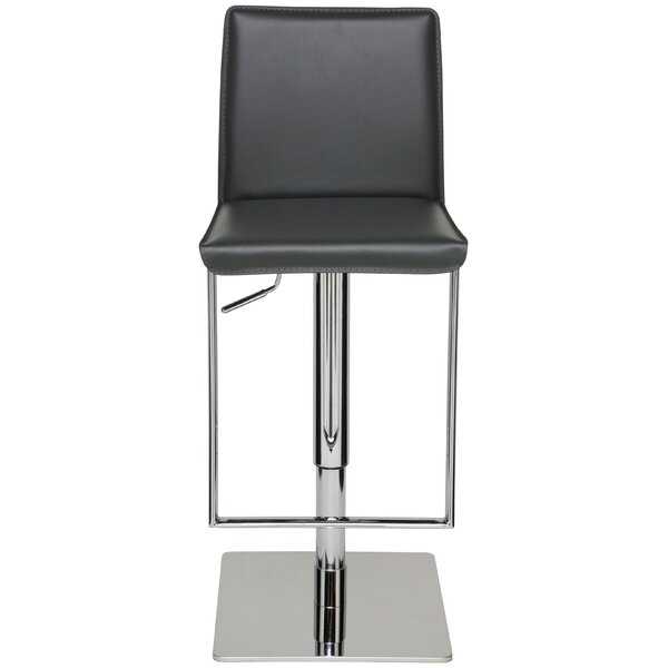 Cameron Adjustable Height Swivel Bar Stool by Nuevo