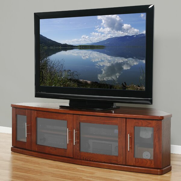 Leasure Solid Wood TV Stand For TVs Up To 70