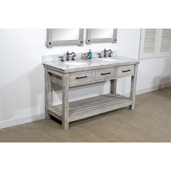 Cecilia 61 Double Bathroom Vanity Set by Millwood Pines