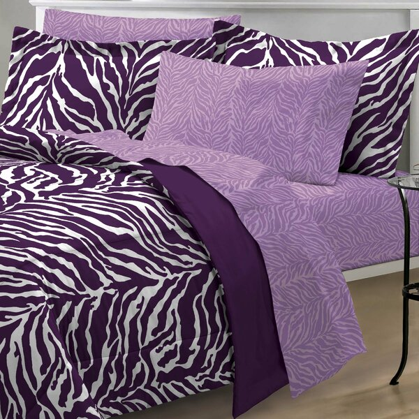 India 5 Piece Comforter Set by Zoomie Kids