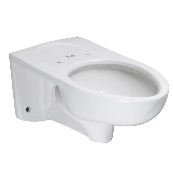 Afwall Flowise Elongated Toilet Bowl by American Standard