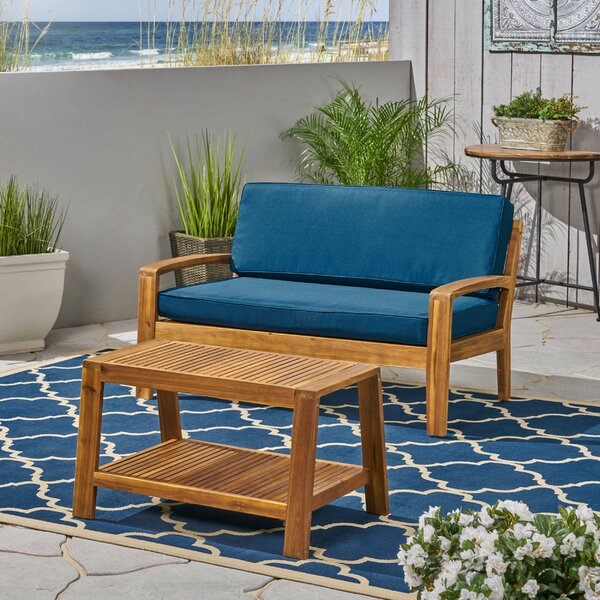 Sondra 2 Piece Sofa Seating Group with Cushions by Highland Dunes