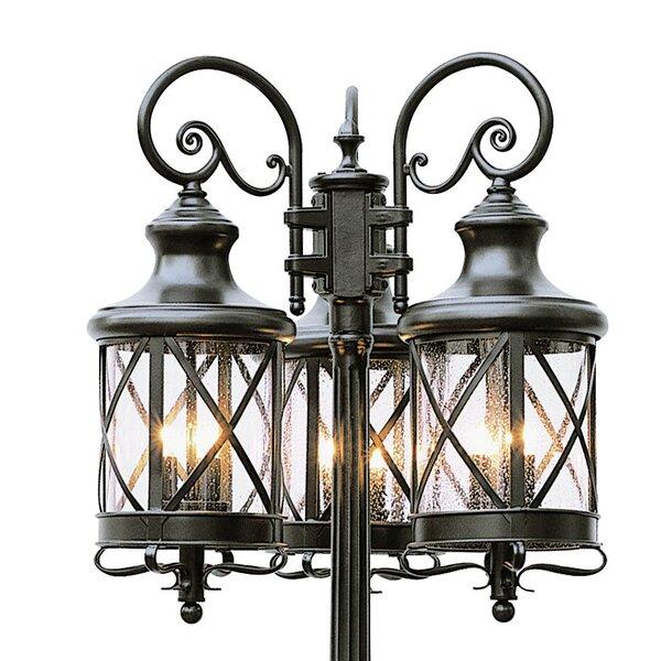 Landon 6-Light 81 Post Light by Laurel Foundry Modern Farmhouse