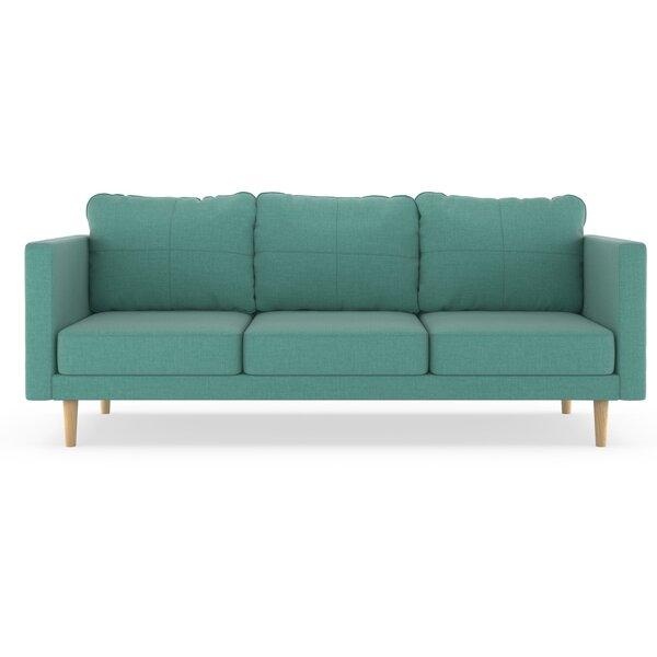 Best Deals Rocio Linen Weave Sofa New Seasonal Sales are Here! 55% Off