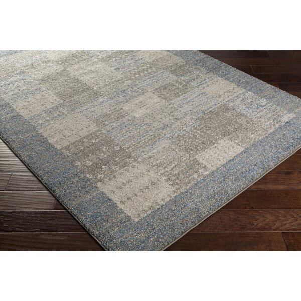 Addora Blue/Gray Area Rug by Bungalow Rose