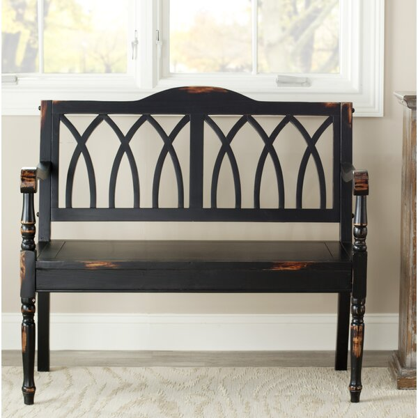 Dieppe Wood Bench by Lark Manor