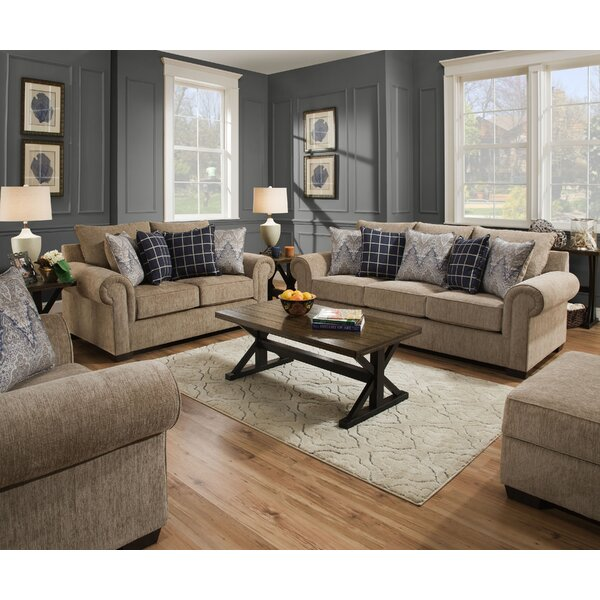 Della Configurable Living Room Set by Alcott Hill