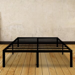 Dura Metal Steel Slate Bed Frame by Al..