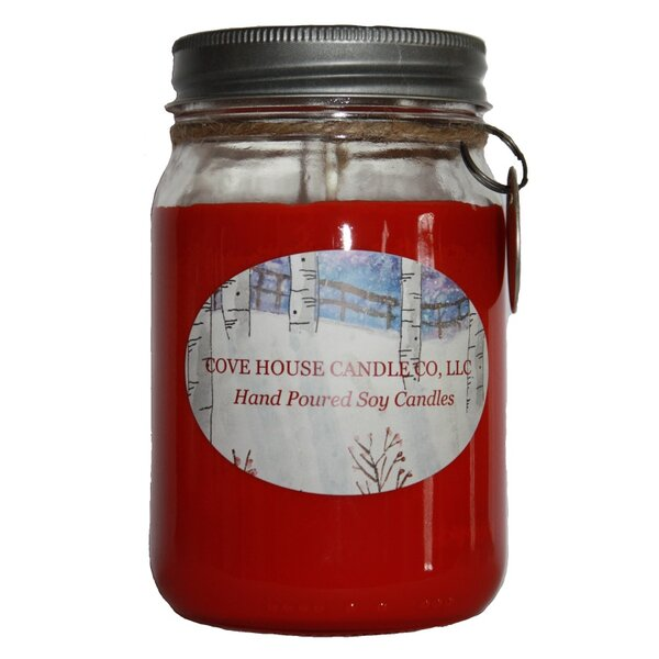 Cranberry Cobbler Jar Candle by Cove House Candle Co