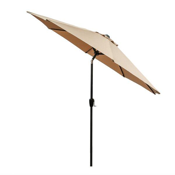 Mayfair 9' Beach Umbrella By Highland Dunes
