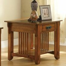 Compare prices Aretha Traditional End Table By Red Barrel Studio