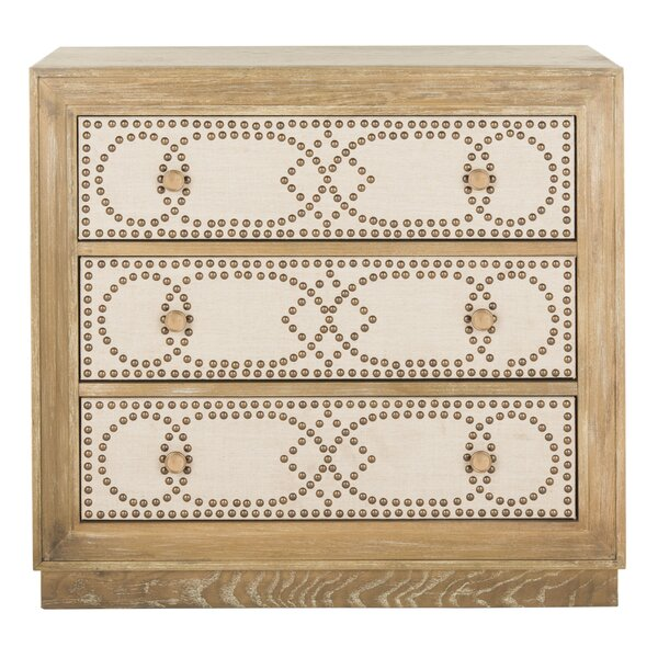 Ahumada 3 Drawer Accent Chest by Rosdorf Park