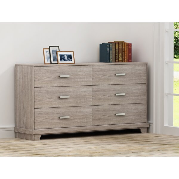 Avalos 6 Drawer Double Dresser by Trule Teen