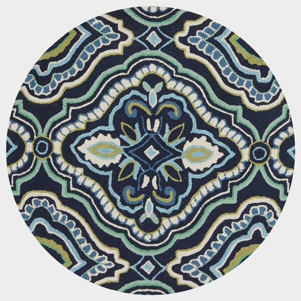 Kips Bay Blue Area Rug by Charlton Home