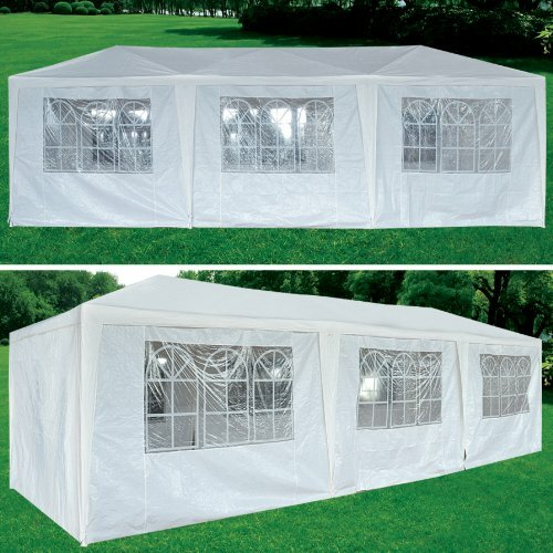 30 Ft. W x 10 Ft. D  Steel Party Tent  Canopy by Strong Camel