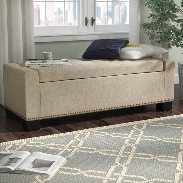 Moraga Storage Ottoman by Alcott Hill
