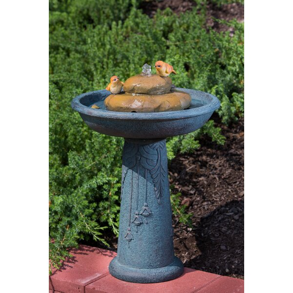 Outdoor Birdbath by Alfresco Home