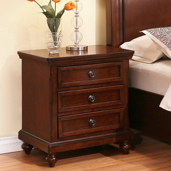 Pennington 3 Drawer Nightstand by Darby Home Co