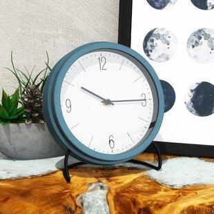 Blue Mantel U0026 Tabletop Clocks Youu0027ll Love | Wayfair