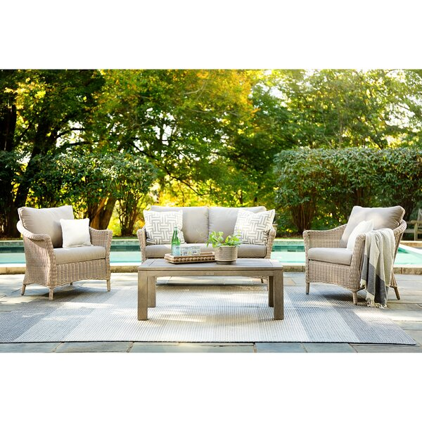 Laurel Lounge Seating Group with Sunbrella Cushions by La-Z-Boy Outdoor