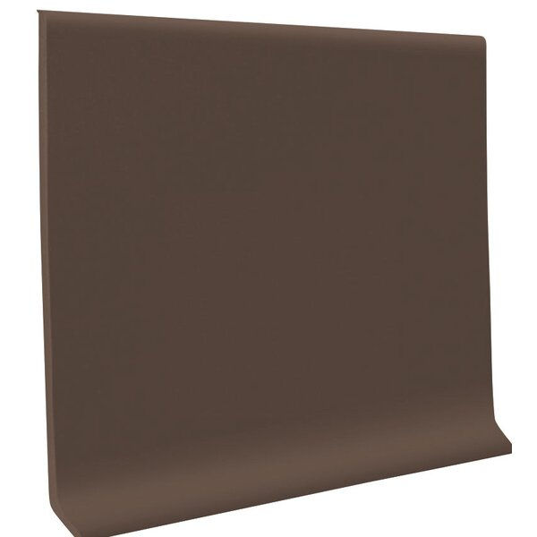 0.13 x 48 x 4 Cove Molding in Light Brown (Set of 30) by ROPPE