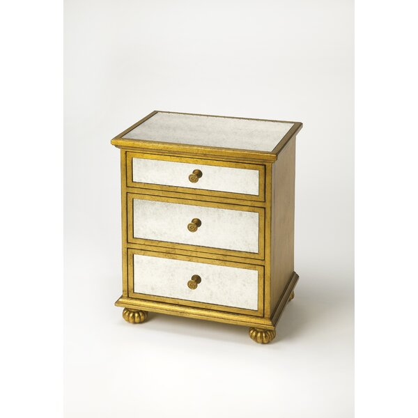 Schanz Grable 3 Drawer Chest by House of Hampton