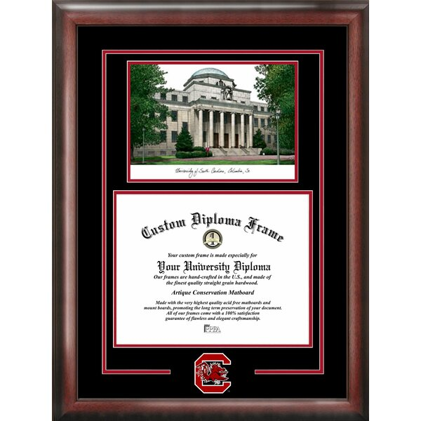 NCAA South Carolina Gamecocks Spirit Graduate Picture Frame by Campus Images