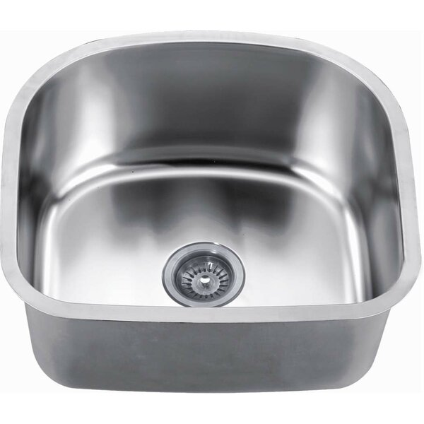22 L x 20 W Undermount Kitchen Sink by Daweier