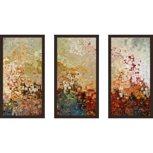Joshua 1 9 Ik by Mark Lawrence 3 Piece Framed Painting Print Set by Picture Perfect International