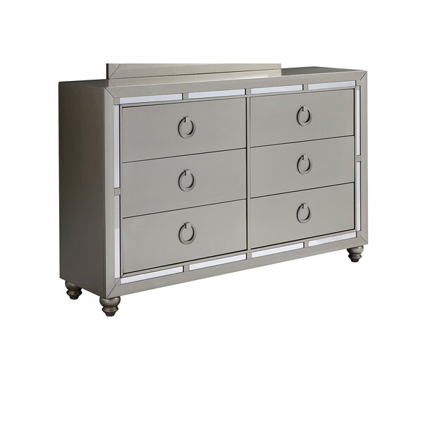 Rosaline 6 Drawer Dresser by Rosdorf Park