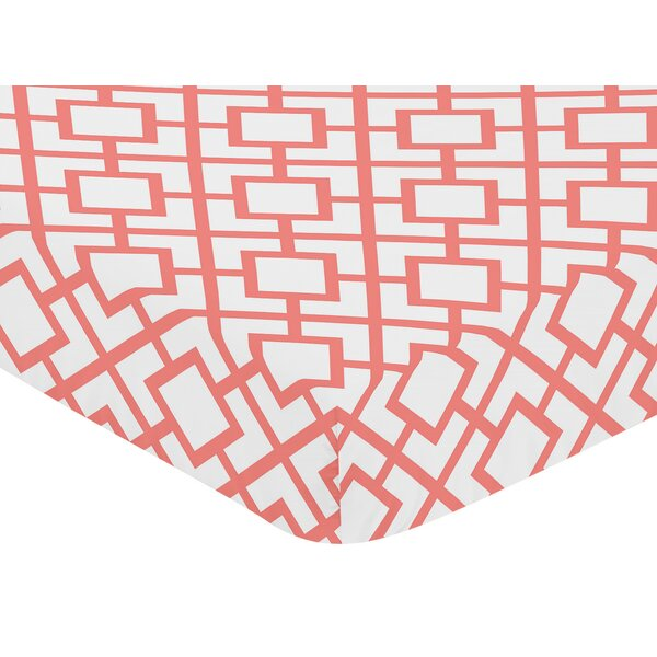 Mod Diamond Fitted Crib Sheet by Sweet Jojo Designs