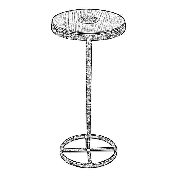 Manassas End Table by 17 Stories