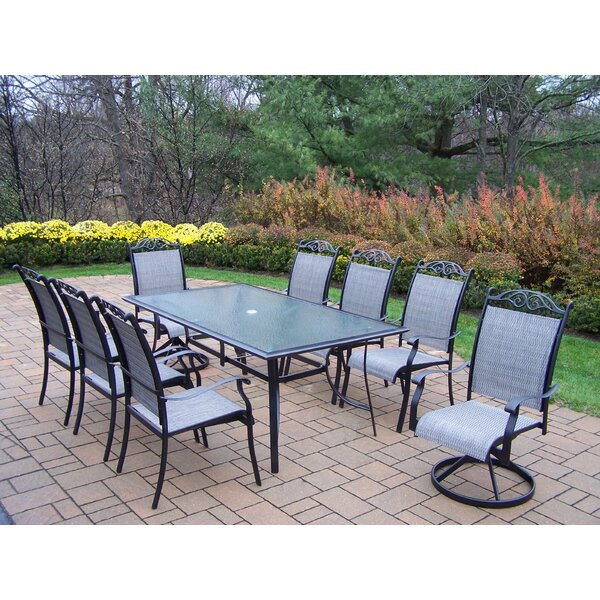 Basile 9 Piece Dining Set by August Grove