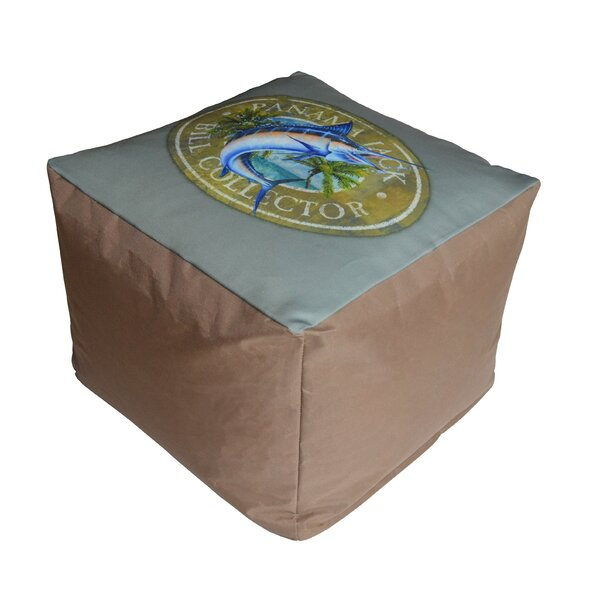 Bill Collector Pouf Ottoman by Panama Jack Outdoor