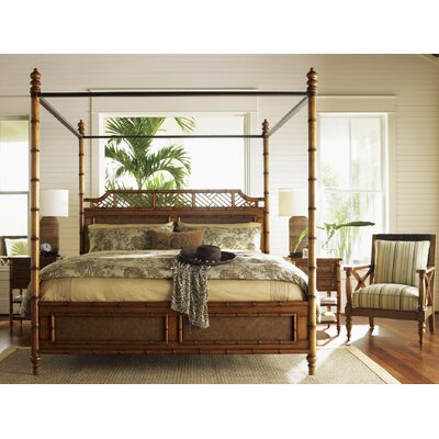 Tommy Bahama Estates Canopy Bed Beds