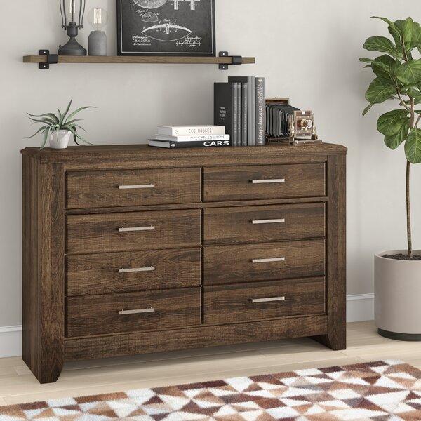 Granite Range 6 Drawer Double Dresser by Loon Peak