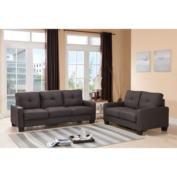 Michal 2 Piece Living Room Set by Ebern Designs