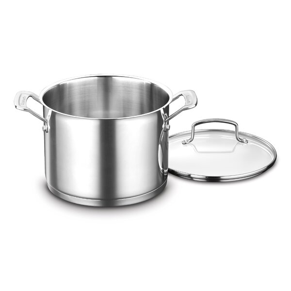 Professional Series 6 qt. Stock Pot with Lid by Cuisinart