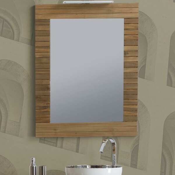 Smoak Stripes Wall Mirror by Orren Ellis