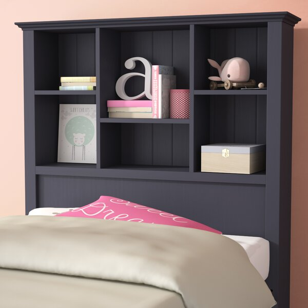 Baileyville Bookcase Headboard by Beachcrest Home