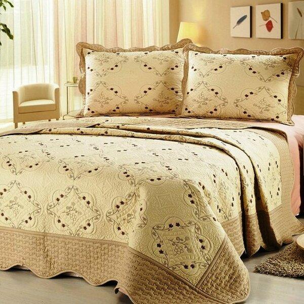 3 Piece Reversible Quilt Set by Home Sensation