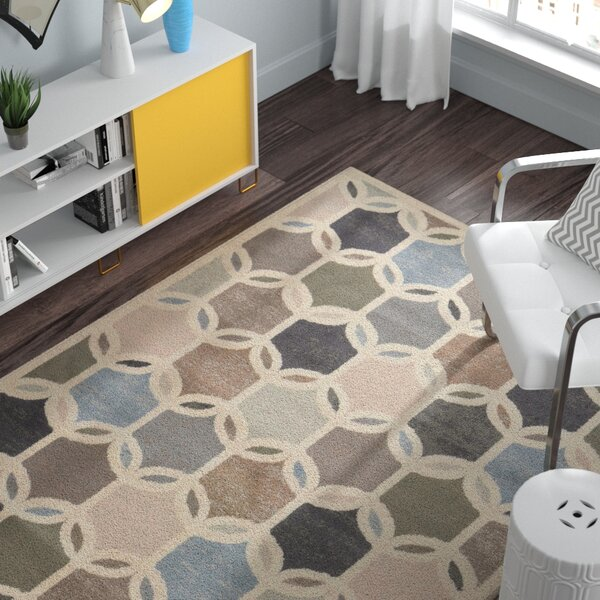 Thomasin Ivory Area Rug by Zipcode Design
