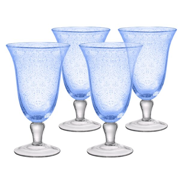 Candis 18 oz. Glass Every Day Set (Set of 4) by Beachcrest Home