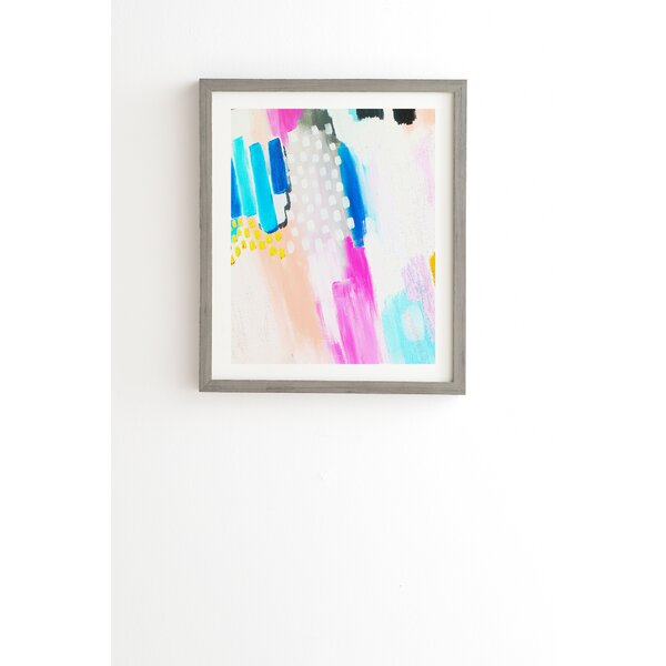 Free Abstract Framed Graphic Art by East Urban Home