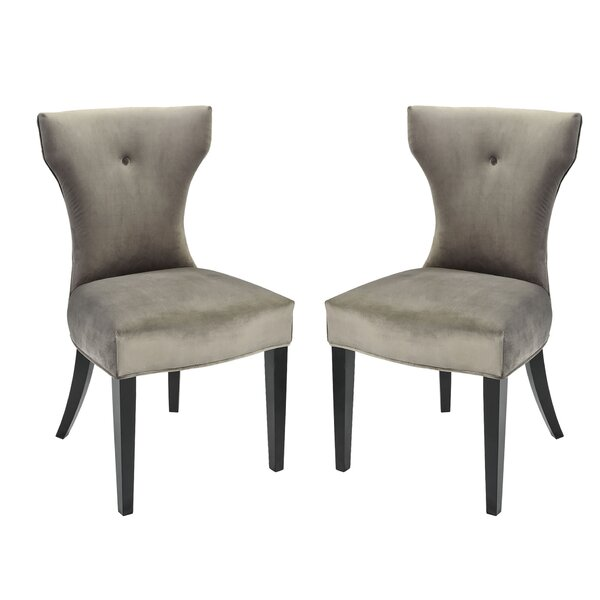 Lainey Upholstered Dining Chair (Set Of 2) By Red Barrel Studio