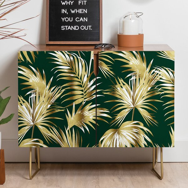 Marta Barragan Camarasa Palms II Credenza by East Urban Home East Urban Home